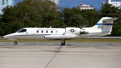 Photo ID 190062 by Hector Rivera - Puerto Rico Spotter. USA Air Force Learjet C 21A, 84 0135