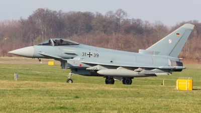 Photo ID 190109 by Adrian Stürmer. Germany Air Force Eurofighter EF 2000 Typhoon S, 31 39
