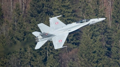 Photo ID 190121 by Andreas Zeitler - Flying-Wings. Switzerland Air Force McDonnell Douglas F A 18C Hornet, J 5003