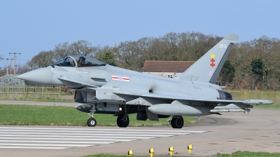 Photo ID 190141 by Lieuwe Hofstra. UK Air Force Eurofighter Typhoon FGR4, ZK335