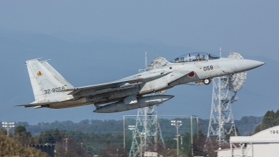 Photo ID 190173 by Lars Kitschke. Japan Air Force McDonnell Douglas F 15DJ Eagle, 32 8058