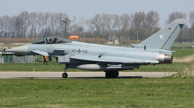 Photo ID 190208 by Arie van Groen. Germany Air Force Eurofighter EF 2000 Typhoon S, 30 58