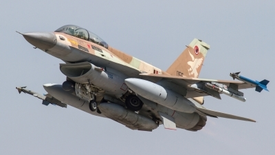 Photo ID 190279 by Nikos A. Ziros. Israel Air Force General Dynamics F 16D Fighting Falcon, 055