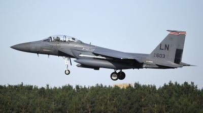 Photo ID 190203 by Lieuwe Hofstra. USA Air Force McDonnell Douglas F 15E Strike Eagle, 91 0603