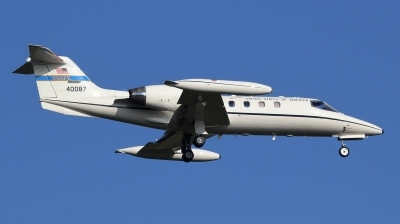 Photo ID 190277 by kristof stuer. USA Air Force Learjet C 21A, 84 0087