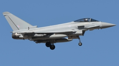 Photo ID 190335 by Hans-Werner Klein. UK Air Force Eurofighter Typhoon FGR4, ZK343