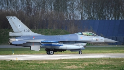 Photo ID 190363 by Peter Boschert. Netherlands Air Force General Dynamics F 16AM Fighting Falcon, J 509