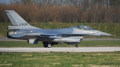 Photo ID 190364 by Peter Boschert. Netherlands Air Force General Dynamics F 16AM Fighting Falcon, J 628