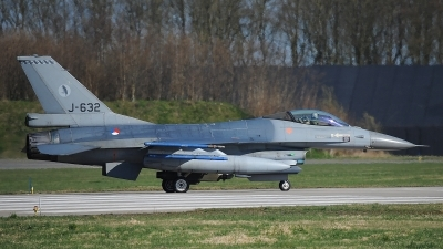 Photo ID 190582 by Peter Boschert. Netherlands Air Force General Dynamics F 16AM Fighting Falcon, J 632