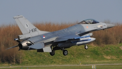 Photo ID 190366 by Peter Boschert. Netherlands Air Force General Dynamics F 16AM Fighting Falcon, J 632
