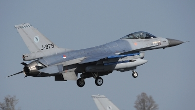 Photo ID 190372 by Peter Boschert. Netherlands Air Force General Dynamics F 16AM Fighting Falcon, J 879