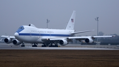 Photo ID 190395 by Lukas Kinneswenger. USA Air Force Boeing E 4B 747 200B, 73 1676