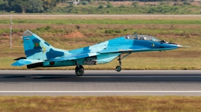 Photo ID 190441 by Andreas Zeitler - Flying-Wings. Bangladesh Air Force Mikoyan Gurevich MiG 29UB 9 51, 28264