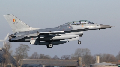 Photo ID 190494 by kristof stuer. Belgium Air Force General Dynamics F 16BM Fighting Falcon, FB 23