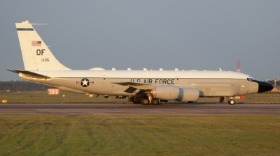 Photo ID 190488 by Luca Chadwick. USA Air Force Boeing RC 135W Rivet Joint 717 158, 62 4135