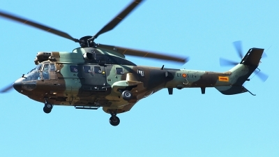 Photo ID 190600 by Manuel Fernandez. Spain Army Aerospatiale AS 332B1 Super Puma, HT 21 14