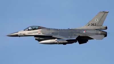 Photo ID 190575 by Jens Wiemann. Netherlands Air Force General Dynamics F 16AM Fighting Falcon, J 362