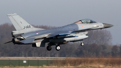 Photo ID 190619 by kristof stuer. Netherlands Air Force General Dynamics F 16AM Fighting Falcon, J 144