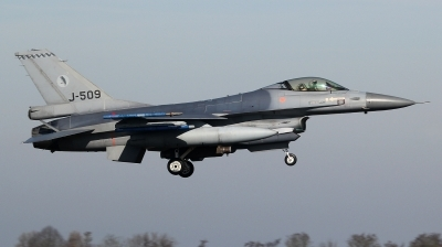 Photo ID 190711 by kristof stuer. Netherlands Air Force General Dynamics F 16AM Fighting Falcon, J 509