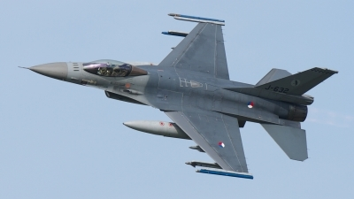 Photo ID 190752 by Rainer Mueller. Netherlands Air Force General Dynamics F 16AM Fighting Falcon, J 632