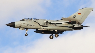 Photo ID 190909 by Ruben Galindo. Germany Air Force Panavia Tornado IDS, 45 09