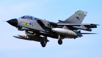 Photo ID 190775 by Sven Zimmermann. UK Air Force Panavia Tornado GR4, ZD847