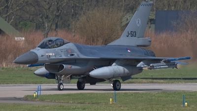 Photo ID 190942 by Rainer Mueller. Netherlands Air Force General Dynamics F 16AM Fighting Falcon, J 513