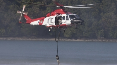 Photo ID 191235 by de Vries. Malaysia Maritime Enforcement Agency Agusta Westland AW139, M72 01