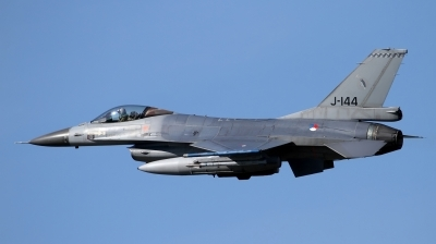 Photo ID 191032 by Jens Wiemann. Netherlands Air Force General Dynamics F 16AM Fighting Falcon, J 144