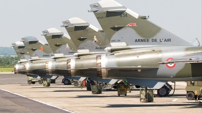 Photo ID 22770 by Alex van Noye. France Air Force Dassault Mirage F1CR, 634