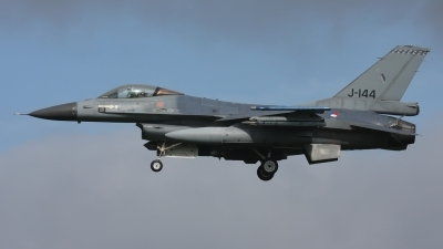 Photo ID 191218 by Rainer Mueller. Netherlands Air Force General Dynamics F 16AM Fighting Falcon, J 144