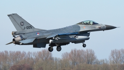 Photo ID 191340 by Rainer Mueller. Netherlands Air Force General Dynamics F 16AM Fighting Falcon, J 005