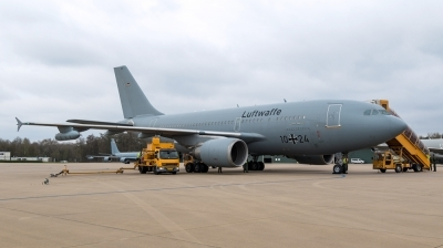 Photo ID 191425 by Mathias Grägel - GME-AirFoto. Germany Air Force Airbus A310 304MRTT, 10 24