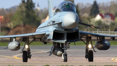 Photo ID 191427 by Mathias Grägel - GME-AirFoto. Germany Air Force Eurofighter EF 2000 Typhoon T, 30 03