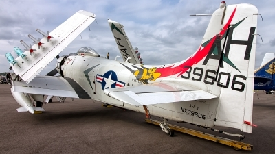 Photo ID 191449 by Hector Rivera - Puerto Rico Spotter. Private Warbird Aircraft LLC Douglas A 1H Skyraider AD 6, NX39606
