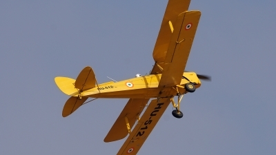 Photo ID 192431 by Lukas Kinneswenger. India Air Force De Havilland DH 82A Tiger Moth II, HU 512