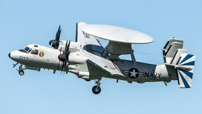 Photo ID 192437 by Nigel Roling. USA Navy Grumman E 2D Advanced Hawkeye, 168599