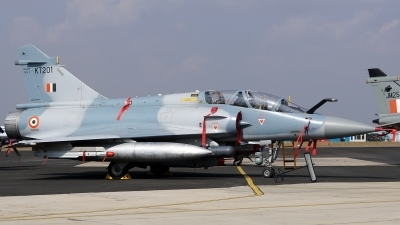 Photo ID 191969 by Lukas Kinneswenger. India Air Force Dassault Mirage 2000TI, KT201