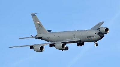 Photo ID 192170 by Marc van Zon. USA Air Force Boeing KC 135R Stratotanker 717 100, 62 3502