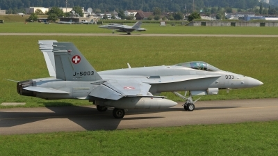 Photo ID 192200 by Andreas Weber. Switzerland Air Force McDonnell Douglas F A 18C Hornet, J 5003