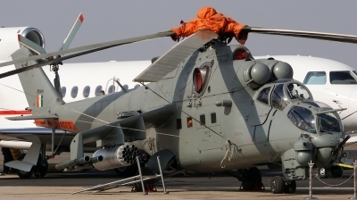 Photo ID 192234 by Lukas Kinneswenger. India Air Force Mil Mi 35, ZT 3101