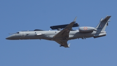 Photo ID 192280 by Lukas Kinneswenger. India Air Force Embraer EMB 145I AEW C, KW3555
