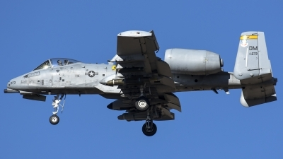 Photo ID 192328 by Thomas Ziegler - Aviation-Media. USA Air Force Fairchild A 10C Thunderbolt II, 80 0273