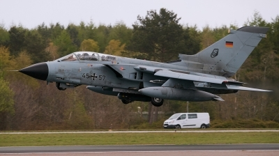 Photo ID 192307 by Lieuwe Hofstra. Germany Air Force Panavia Tornado IDS, 45 57