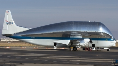 Photo ID 192340 by Thomas Ziegler - Aviation-Media. USA NASA Aero Spacelines 377SG Super Guppy, N941NA