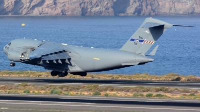 Photo ID 192413 by Alejandro Hernández León. NATO Strategic Airlift Capability Boeing C 17A Globemaster III, 08 0003