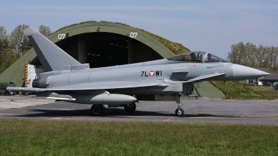 Photo ID 192790 by Rainer Mueller. Austria Air Force Eurofighter EF 2000 Typhoon S, 7L WI