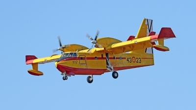 Photo ID 193000 by Fernando Sousa. Spain Air Force Canadair CL 215T, UD 13T 23