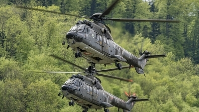 Photo ID 192879 by Martin Thoeni - Powerplanes. Switzerland Air Force Aerospatiale AS 332M1 Super Puma, T 315