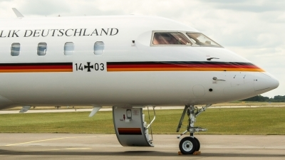 Photo ID 192926 by Lukas Könnig. Germany Air Force Bombardier BD 700 1A11 Global 5000, 14 03